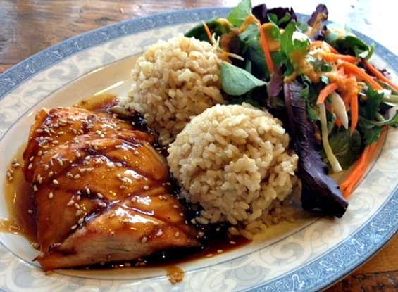 Glaze teriyaki makes a healthy, satisfying lunch. - JULIE KRAMER