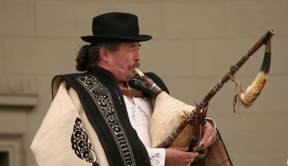 God have mercy on our souls, the International Bagpipe Festival is this Sunday.