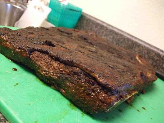 Good Foods' house-made bacon. - TAMARA PALMER