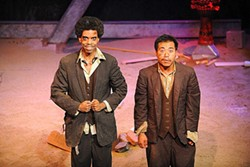 B. KUO - Goram (Anthony Julius Williams) and Pick (Will Dao) are lowlifes on an annoying journey of self-discovery.