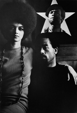 GORDON PARKS - Gordon Parks documented social movements like the Black Panthers and its leadership. Here, Eldridge Cleaver and wife Kathleen, 1970.