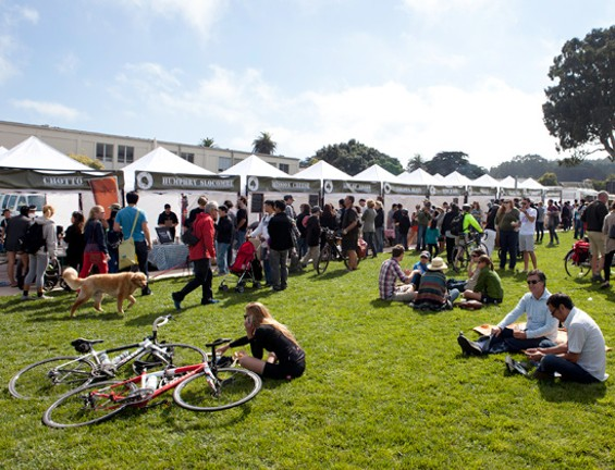 Grab a blanket, grub, and sun at Off the Grid: Presidio Picnic - J. SCHELL
