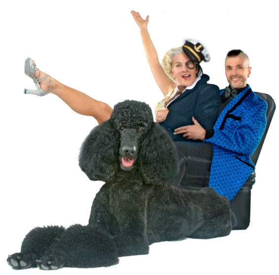 FUDGIE FROTTAGE, INDRA, AND THE WORLD'S LARGEST POODLE?