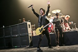 CHRISTOPHER VICTORIO - Green Day's Billy Joe Armstrong performing at South by Southwest as a fan is about to make a leap of faith.