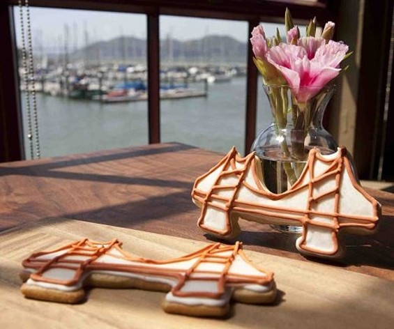 Greens' Golden Gate Bridge cookies. - MARTIN ALLRED