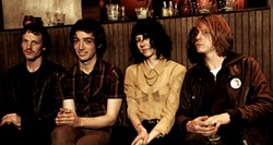 MARCUS ALBINO - Greer McGettrick, second from right, says The Mallard will get less garage-y on its next album.