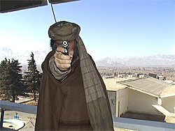 Greg Shade is gunning for terrorists.