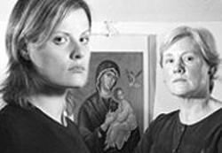 PAOLO  VESCIA - Greta and Cappy Larson of the Protection of the - Theotokos.