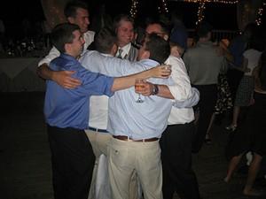 Group hug + cocktails = happiness - FLICKR/BOBAFRED