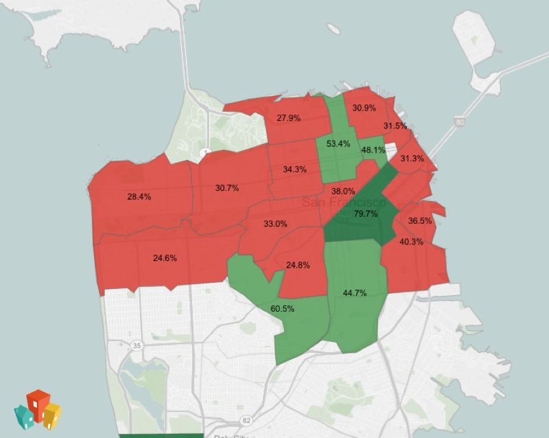 Guess Which S.F. Neighborhood Is the Least Pet Friendly | The Snitch