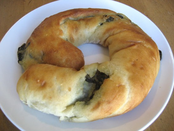 Gyros? Order Gyro King's spinach or feta pies ($3.75) instead. - JONATHAN KAUFFMAN