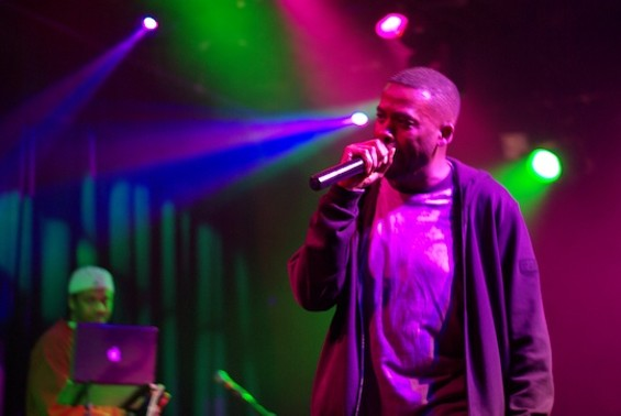 GZA at the Independent. Photos by the author.