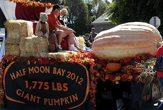 Half Moon Bay 2012 Pumpkin Festival Champion - MIRAMAR EVENTS