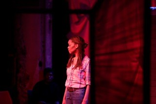 Halili Knox(foreground) Danez Smith (background) - ELI JACOBS- FANTAUZZI