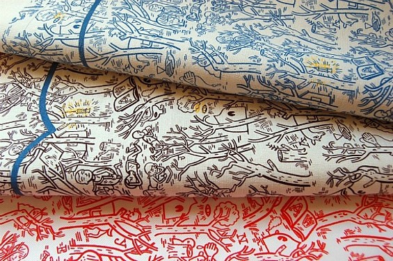 Handkerchief and reversible tie. - JASON JÄGEL