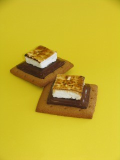 Handmade s'mores from Charles Chocolate.