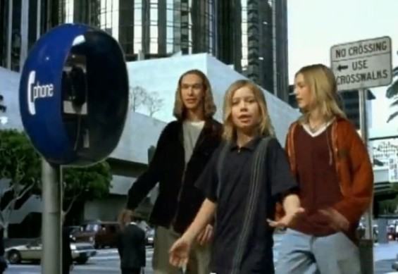 Hanson and payphones: Two relics of the '90s.