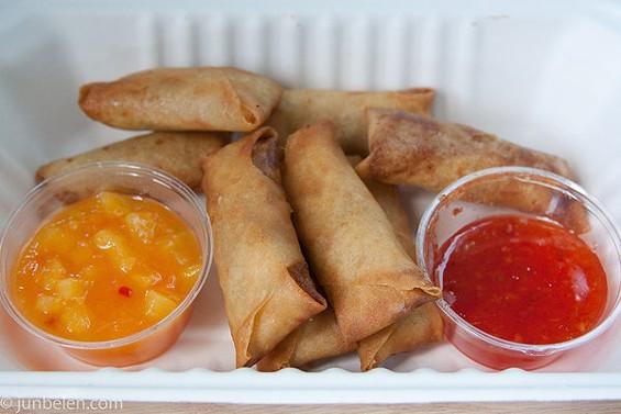 Hapa's lumpia were the best we've tasted here. - JUN BELEN