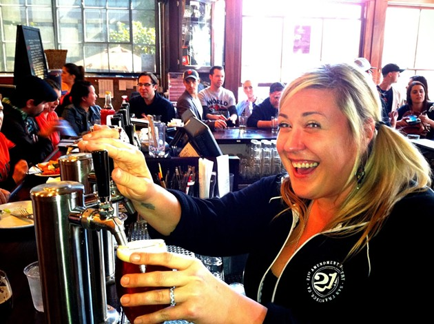 Happiness on Tap - 21ST AMENDMENT