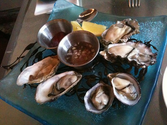 Happy hour oysters are $1 each ― same as in Gold Rush days. - CYGNOIR/FLICKR
