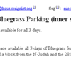 Hardly Strictly Bluegrass Festival Inspires AirBnB for Parking Spaces in S.F.