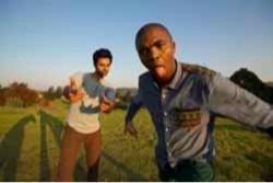 Hasan Minhaj and Loyiso Gola - COURTESY OF THE SAN FRANCISCO FILM SOCIETY