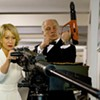 """Red"": Helen Mirren and Bruce Willis are comedic trained killers"