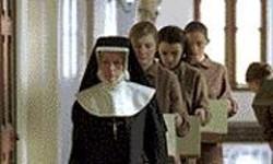 Help Me, Sister: A nun leads Rose (Dorothy - Duffy), Bernadette (Nora-Jane Noone), and - Margaret (Anne-Marie Duff).