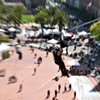 Zip Line Across Justin Herman Plaza -- What Could Go Wrong?