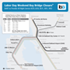 Here's Your Handy 24/7 BART Map for When the Bay Bridge Is Closed