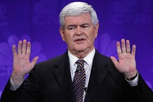 Hey, Newt how about getting a haircut from this decade