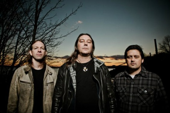 High on Fire, L-R: Jeff Matz, Matt Pike, Des Kensel - TOM COUTURE