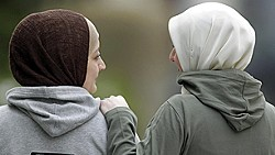Hijabs and hoodies - an Abercrombie fashion faux pas.