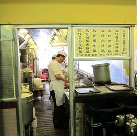 Hing Lung's front kitchen, at least, looked presentable. - W. BLAKE GRAY