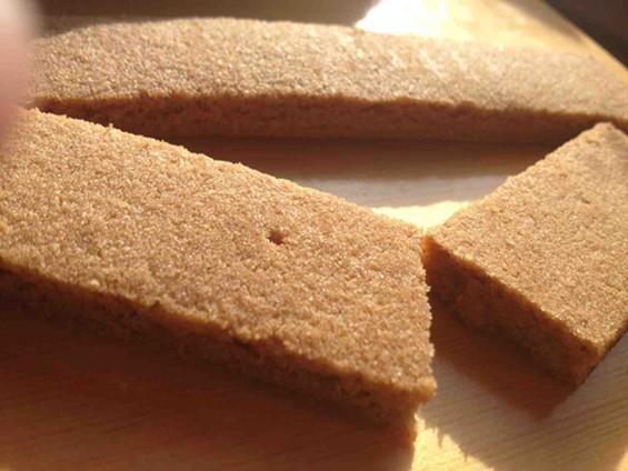 Holly Baking's Sweet Ginger Cookie Brittle. - TAMARA PALMER