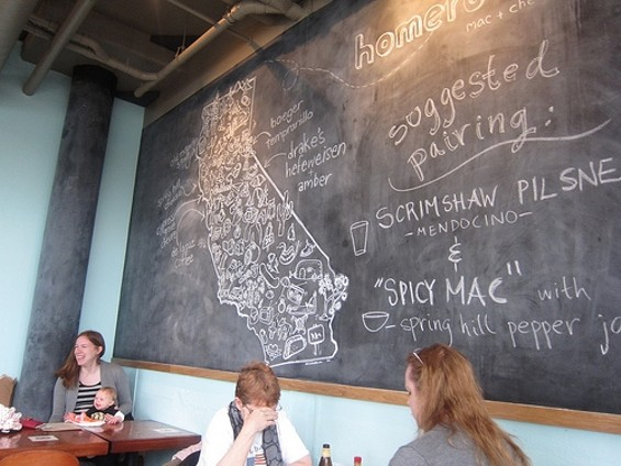 Homeroom, a mac and cheese restaurant in Oakland, opened for business. - CARINA OST