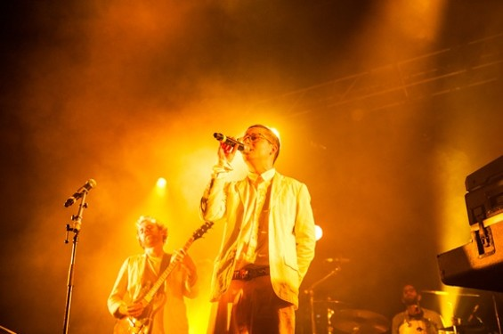 Hot Chip at the Fox Theater last night. - RICHARD HAICK