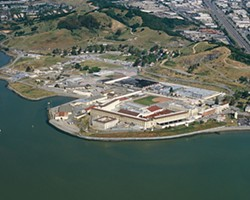 Hot, flat, and crowded: San Quentin State Prison