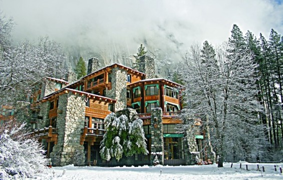 How can you not want to go to The Ahwahnee in winter? - KENNY KARST
