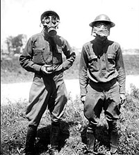 Humans in gas masks just aren't the same