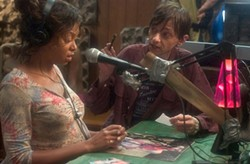 Hustle and Flow: Taraji P. Henson and DJ Qualls.