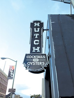 PETE KANE - Hutch makes its mark on Oakland's bustling restaurant row.