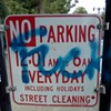 """Artist Insists He Can Deface """"No Parking"""" Sign Because He's a Taxpayer"""