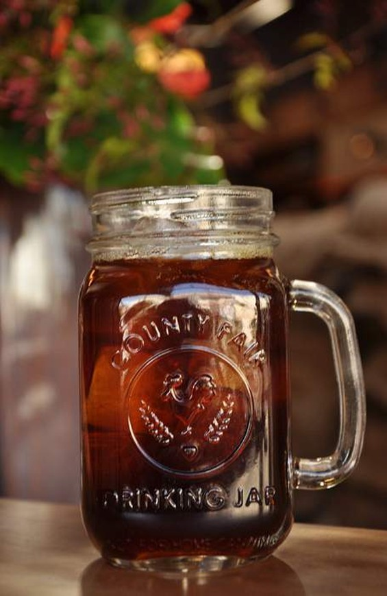 Iced coffee from Sightglass. - IANN IVY