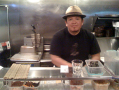 ICHI's Tim Archuleta at the Monday happy hour at Bender's. - ICHI