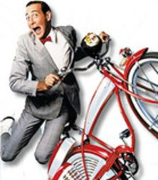 If only police had made it that easy for Pee Wee