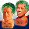 Chia Obama Is Beating Chia Romney in the Polls