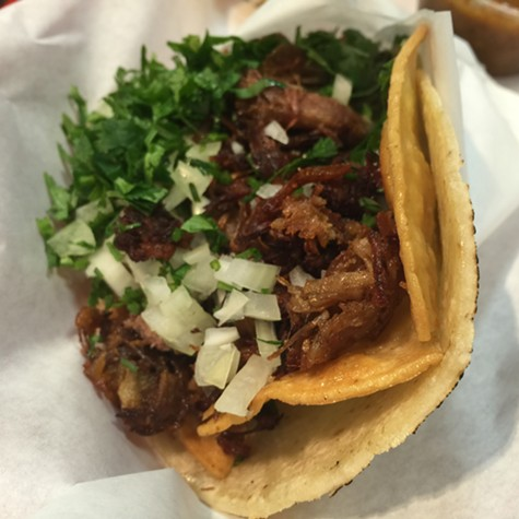If you're a fan of La Taq's Carnitas, try their crispy carnitas. Mind- and mouthblowing. - OMAR MAMOON