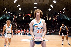 FRANK MASI/NEW LINE CINEMA - If you've seen one Will Ferrell sports comedy, you've seen 'em ball ... er, all.