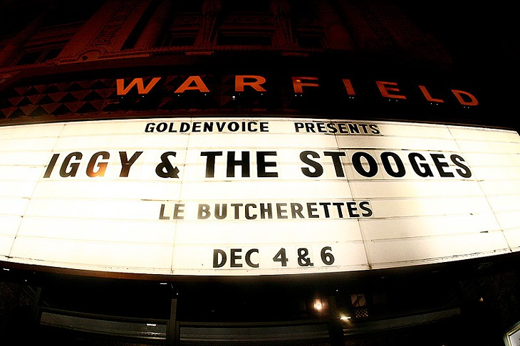 Iggy Pop @ The Warfield